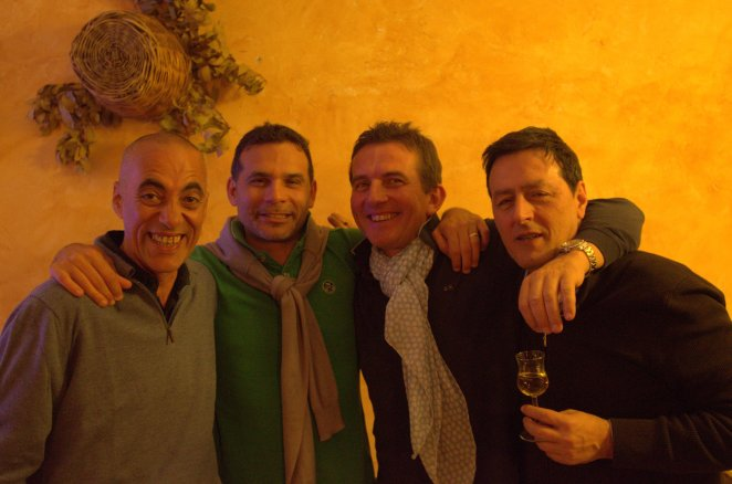 Massimo,peppe,billy and Paolo